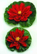 Selyemvirág,tavirózsa 20cm piros