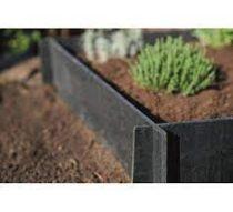 Ágyásszegély zöldséges kiskerthez, korhadásálló H19 x 100 x 100 cm