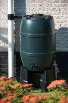 Esővízgyüjtő 210l zöld, műanyag,97x57cm