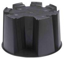 Esővízgyüjtő talp, fekete, 31,5x53cm