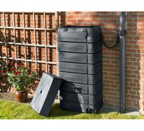 Esővízgyüjtő 276l, antracit műanyag,135x60x40cm