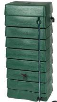 Esővízgyüjtő, 168l, antracit műanyag, 88x59x39 cm
