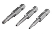 Wolfcraft Lyukas Safety Torx bitfej, 50 mm, T7, T8, T9 (1/4)