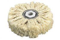 Wolfcraft Polírozó szizálrost csomózott kefe, 85 mm