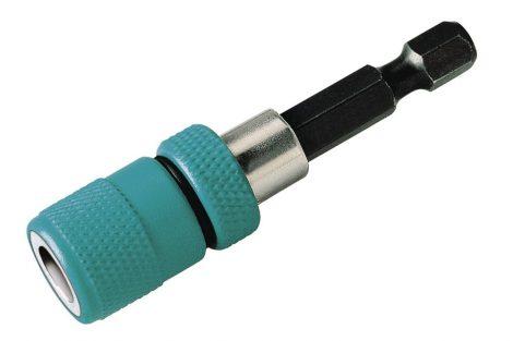 Wolfcraft 2411000 Bitbefogó speciális gyűrűmágnessel és mélységütközővel, műanyag házas