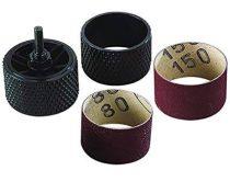 Forgóráspoly- és csiszolókészlet, S=6mm, fúrógéphez