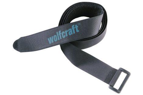 Wolfcraft Tépőzáras csomagrögzítő szalag, 120 cm, 4 db |3009000|