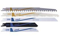 Wolfcraft 5 db-os profi szablyafűrészlap készlet (fa, színesfém, acél) |3599000|