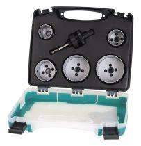 Wolfcraft Lyukfűrészkészlet BiM 6db-os kofferben ?35,40,51,65,68mm |3764000|