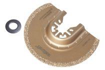 Wolfcraft 3995000 Wolfram-karbid szegmens tárcsa, 85 mm, oszcilláló, rezgőkéses, vibrációs gépekhez, a piacon kapható összes típushoz, (kivéve Bosch Starlock gépek)