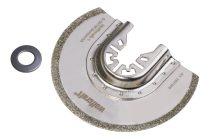 Wolfcraft Gyémánt szegmens tárcsa, 85 mm, oszcilláló, rezgőkéses, vibrációs gépekhez, a piacon kapható összes típushoz, (kivéve  Bosch Starlock gépek)