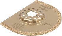 Wolfcraft 4245000 Szegmensfűrészlap, O75 mm, HM szemcsés, rezgőkéses gépekhez, Starlock