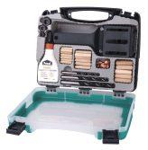 Wolfcraft Mester facsapozó készlet kofferben |4645000|