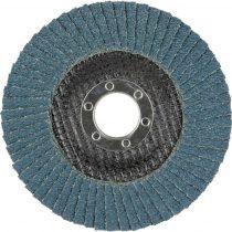 Wolfcraft Lemezes csiszolótárcsa, K 40 125 mm, sarokcsiszolóhoz