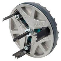 Wolfcraft AH állítható lyukfűrész szárazépítéshez, elektromos,  35,65,68,74,76,83 mm |5983000|