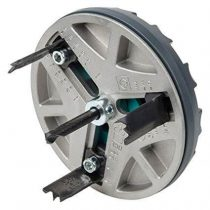 Wolfcraft 5986000 AH állítható lyukfűrész szárazépítéshez, spotlámpa O 35,55,60,68,70,75,80,85 mm