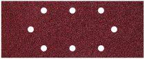 Wolfcraft 15db csiszolólap korund K40,80,120 perforált 93x230mm |8409000|