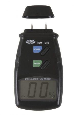 Wolfcraft Fanedvesség-mérő, LCD kijelzővel