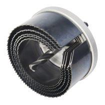 Wolfcraft Standard lyukfűrész készlet halogén spotokhoz Plug&Play, ?68,74,80,90,100mm |8918000|