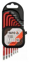 YATO Torx kulcs készlet 7 részes T9-T30