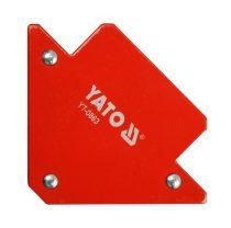 YATO Hegesztési munkadarabtartó mágneses 82x120x13 11,5 kg