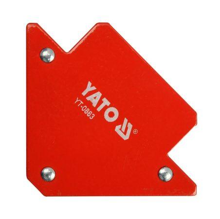 Yato YT-0863 Hegesztési munkadarabtartó mágneses 82x120x13 11,5 kg