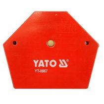YATO Hegesztési munkadarabtartó mágneses 111x136x24 34kg