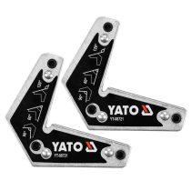 YATO Hegesztési munkadarabtartó mágneses 60-90-120 fok 10kg (2db/cs)