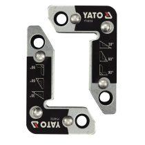 YATO Hegesztési munkadarabtartó mágneses 30-60-90° 25kg (2db/cs)