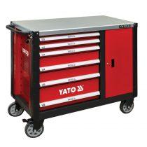 YATO Szerszámkocsi 6 fiók + 1 szekrény