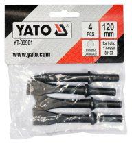 YATO Vésőszár készlet 4 részes (YT-0990-hez)