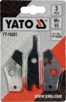 YATO Tartalék penge YT-19260 lemezvágó ollóhoz
