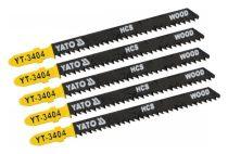 Yato Dekopírfűrészlap T10TPI favágásra 5db/cs (tiszta vágás)