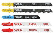 YATO Dekopírfűrészlap készlet 5 részes