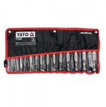 YATO Bőrlyukasztó készlet 15 részes 2-22 mm