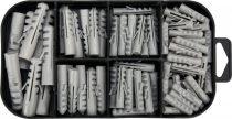 YATO Csavar és tipli készlet 170 részes