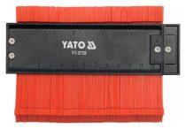 YATO Profilsablon 125 mm