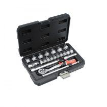 Yato YT-38561 Dugókulcs klt. 22 részes 3/8 6-22mm