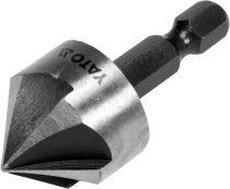 YATO Kúpos süllyesztő fémre bitbefogású HSS 20,5mm