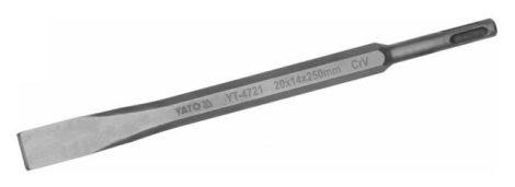Yato YT-4721 Vésőszár lapos 250mm SDS-Plus