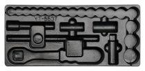 YATO Fiókbetét szerszámok nélkül szerszámkocsihoz YT-5537 dugókulcs készlethez