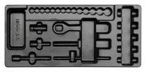 YATO Fiókbetét szerszámok nélkül szerszámkocsihoz YT-5541 dugókulcs készlethez