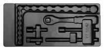 YATO Fiókbetét szerszámok nélkül szerszámkocsihoz YT-5542 dugókulcs készlethez