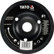 YATO Ráspolykorong durva #1 125 mm