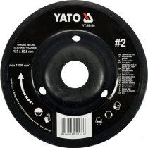 YATO Rotációs ráspolykorong közepes #2 125mm