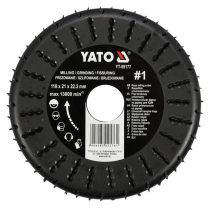 YATO Ráspolyos vágótárcsa 118 mm