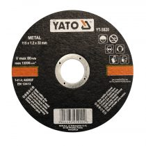 YATO Vágókorong fémre 115x1,2x22