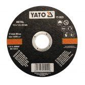 Yato YT-5923 Vágókorong fémre 125x1.2x22 YATO~ 1/5/25/200
