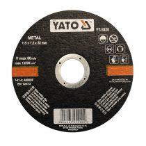 Yato Vágókorong fémre 125x1.2x22 YATO~ 1/5/25/200