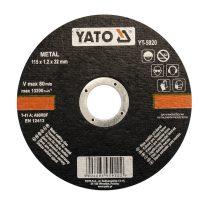 YATO Vágókorong fémre 125x1.2x22